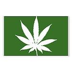Cannabis Rectangle Sticker