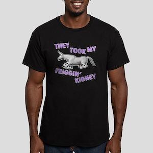 Charlie-D5-iPad2Case Men's Fitted T-Shirt (dark)