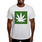 Cannabis Ash Grey T-Shirt