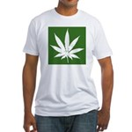 Cannabis Fitted T-Shirt