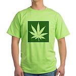 Cannabis Green T-Shirt
