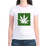 Cannabis Jr. Ringer T-Shirt