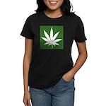 Cannabis Women's Dark T-Shirt
