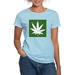 Cannabis Women's Pink T-Shirt