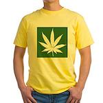 Cannabis Yellow T-Shirt