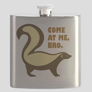 honeybadgerbro Flask