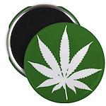 "Cannabis 2.25"" Magnet (100 pack)"