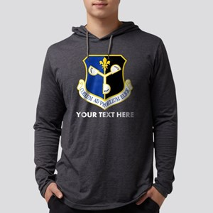 Personalized USAF 557 Weather Wi Mens Hooded Shirt