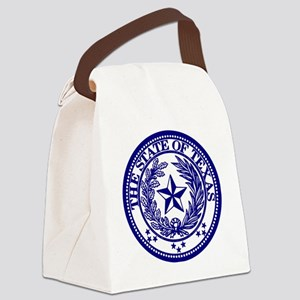 TexasBlue Canvas Lunch Bag
