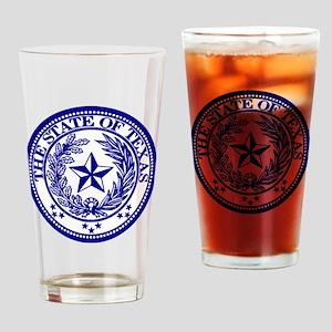 TexasBlue Drinking Glass