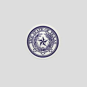 TexasPurple Mini Button