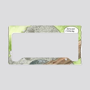 Sympathy Koala Bear License Plate Holder