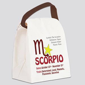 scorpiosquare Canvas Lunch Bag