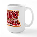 SA Sharks Broomball Large Mug