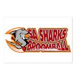 SA Sharks Broomball Postcards (Package of 8)