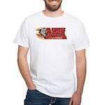 SA Sharks Broomball White T-Shirt