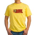 SA Sharks Broomball Yellow T-Shirt