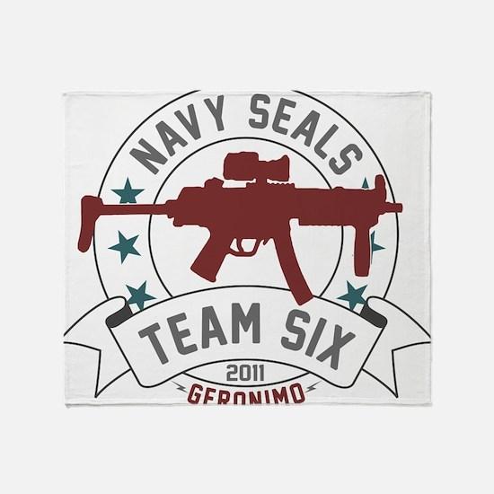 team six Throw Blanket