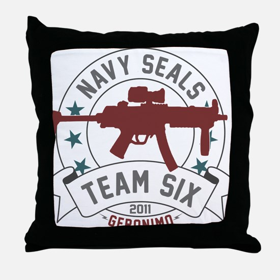 team six Throw Pillow