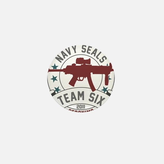team six Mini Button
