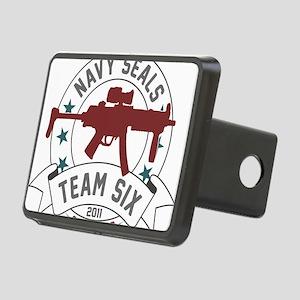 team six Rectangular Hitch Cover