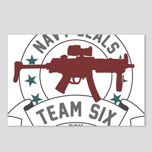 team six Postcards (Package of 8)