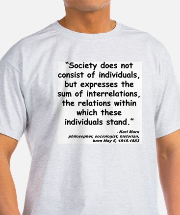 Marx Relations Quote T-Shirt