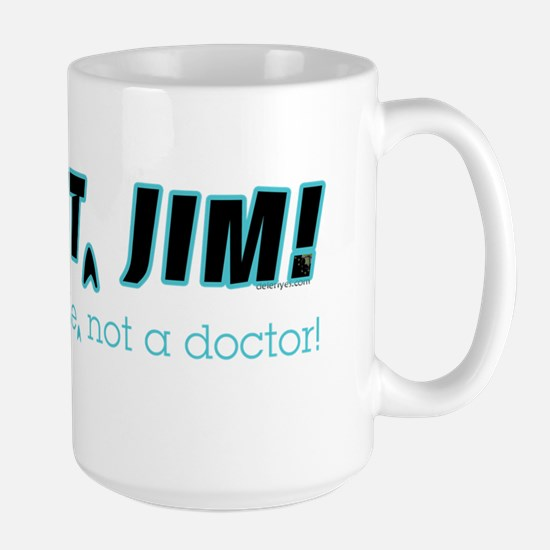 Water Bottle | Dammit Jim Redux Large Mug