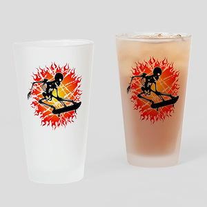 melon_esqueleto Drinking Glass