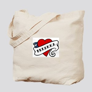 Breanna tattoo Tote Bag