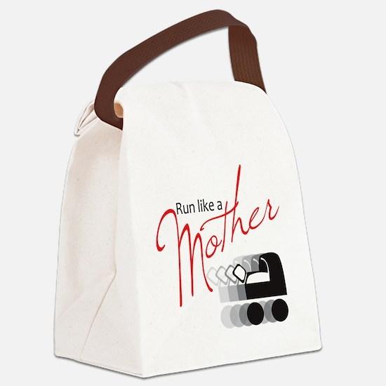 runlikemother2 Canvas Lunch Bag