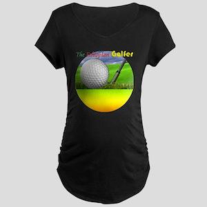golf-3 copy Maternity Dark T-Shirt