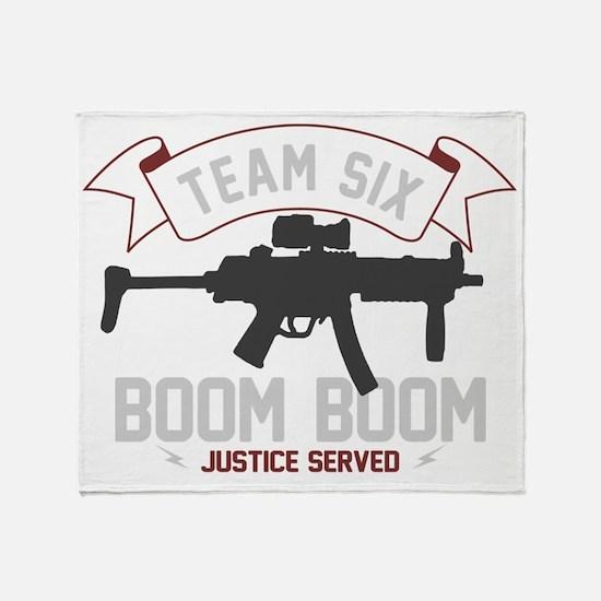 team six-boomboom1 Throw Blanket