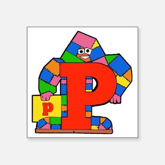"""P Square Sticker 3"""" x 3"""""""