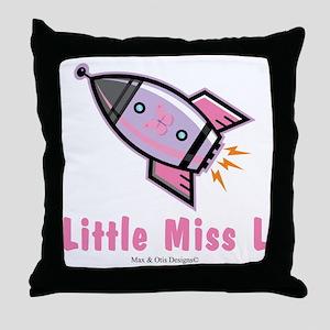 custom-design-butterfly-rocket Throw Pillow