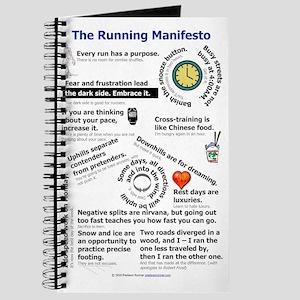 The Running Manifesto v2.0 - Mini Poster 1 Journal