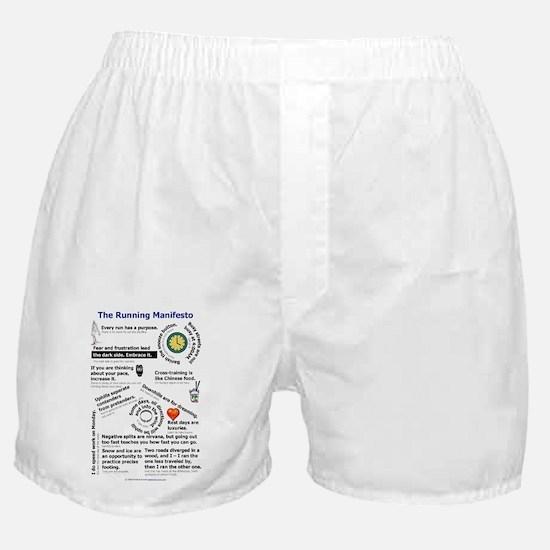 The Running Manifesto v2.0 - Mini Pos Boxer Shorts