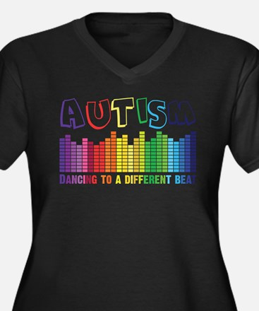 Autism Plus Size T-Shirt