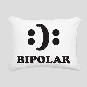 Bipolar Rectangular Canvas Pillow
