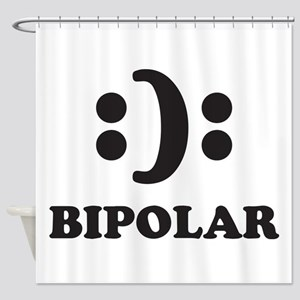 Bipolar Shower Curtain