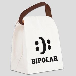 Bipolar Canvas Lunch Bag
