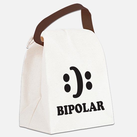 Bipolar Canvas Lunch Bag