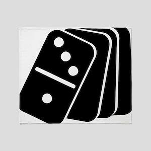 domino_shuffle Throw Blanket