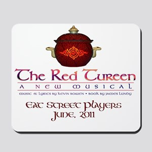 Cafe Press Red Tureen Mousepad