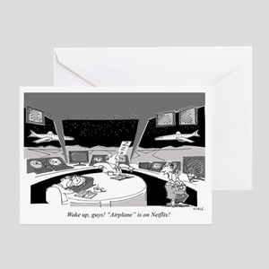 Air Traffic Controllers_Netflix_Airp Greeting Card