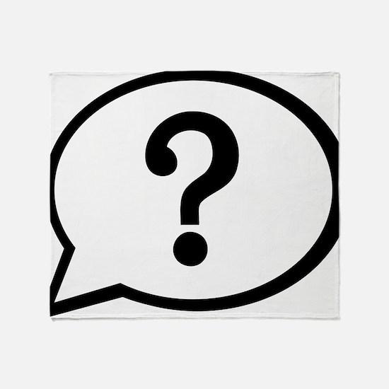 speech_bubble_question Throw Blanket