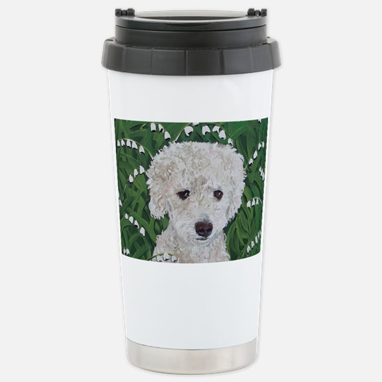 Doxie8x10 Stainless Steel Travel Mug