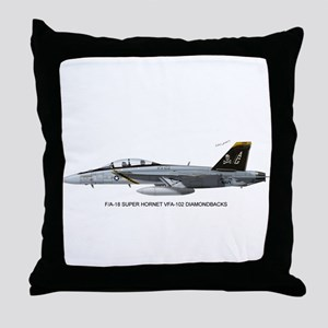 VFA-103 Jolly Rogers Throw Pillow