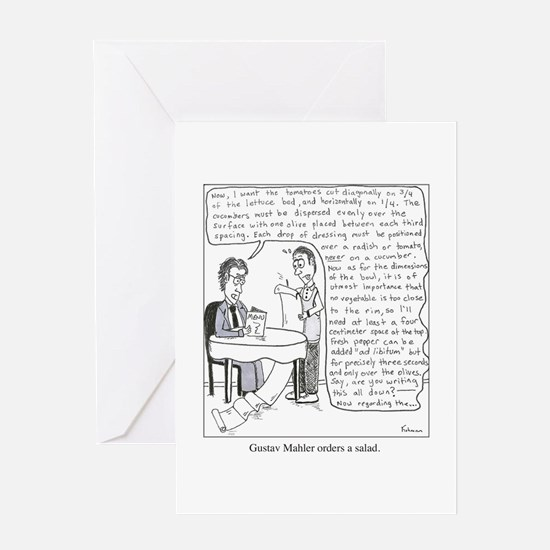 Cool Conductor Greeting Card