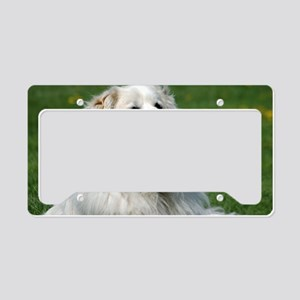 momo118 Great pyrenees License Plate Holder